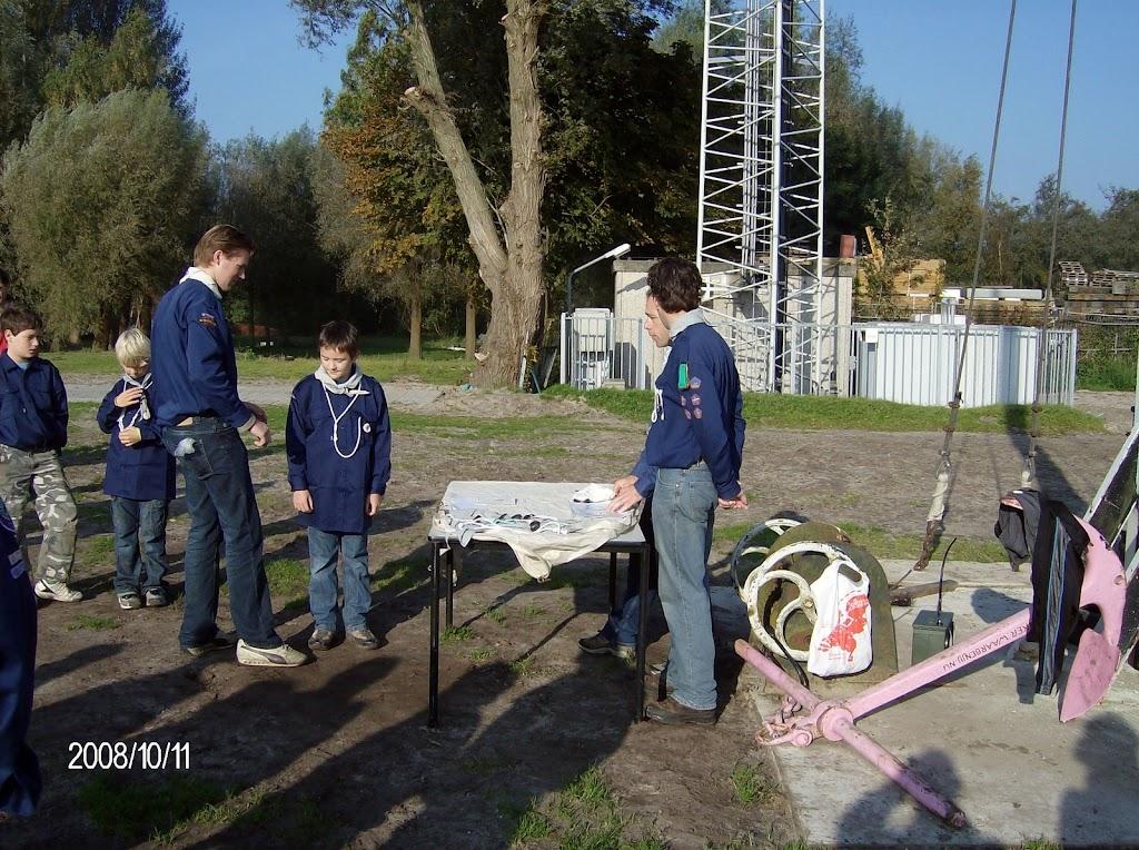 Installatie Bevers, Welpen en Zeeverkenners 2008 - HPIM2185.jpg