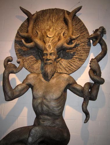 Ctltic God, Celtic And Druids