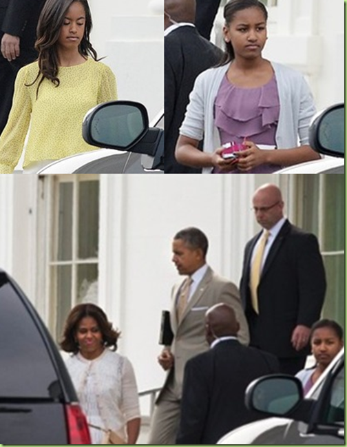 obamas easter 2014