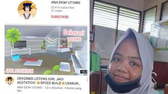 Mantap Nian Jadi YouTuber, Siswa Kelas 5 SD di Karawang Ini Hasilkan Jutaan Rupiah Setiap Bulan
