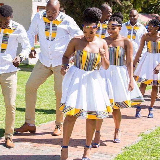 Venda Traditional Modern Dresses: Venda Traditional Wedding Dresses 2019