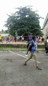Students Storm University of Ibadan despite Virtual Lectures.