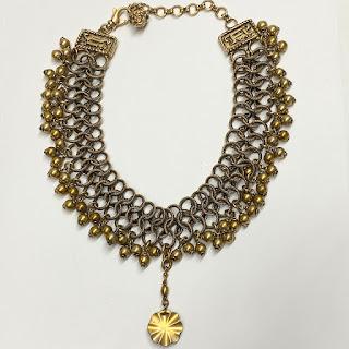 Versace Statement Choker Necklace