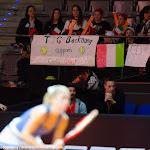 STUTTGART, GERMANY - APRIL 19 : Camila Giorgi in action at the 2016 Porsche Tennis Grand Prix