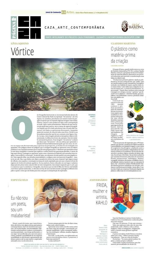 Página da Caza - 06 de Julho de 2012