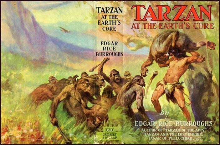 Tarzan no Centro da Terra
