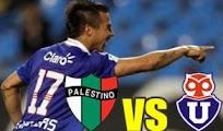 U Chile Palestino vivo online fecha 4 Futbol Chile Horarios
