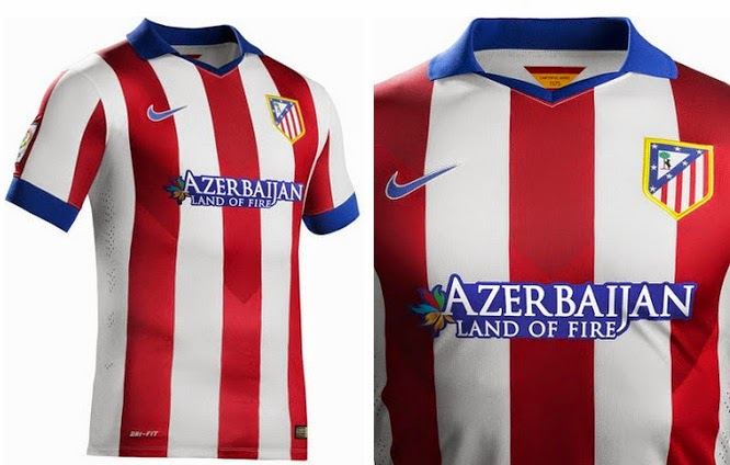 5107b4432 New Atletico Madrid 2014-15 Home   Away Kits Leaked