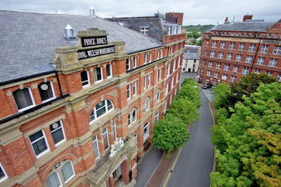 Pryce-Jones building put up for sale