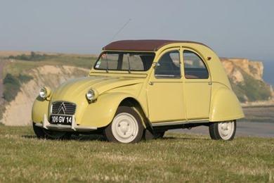 Citroën 1961 2 CV jaune panama