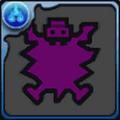 泡狐竜の紫剛毛