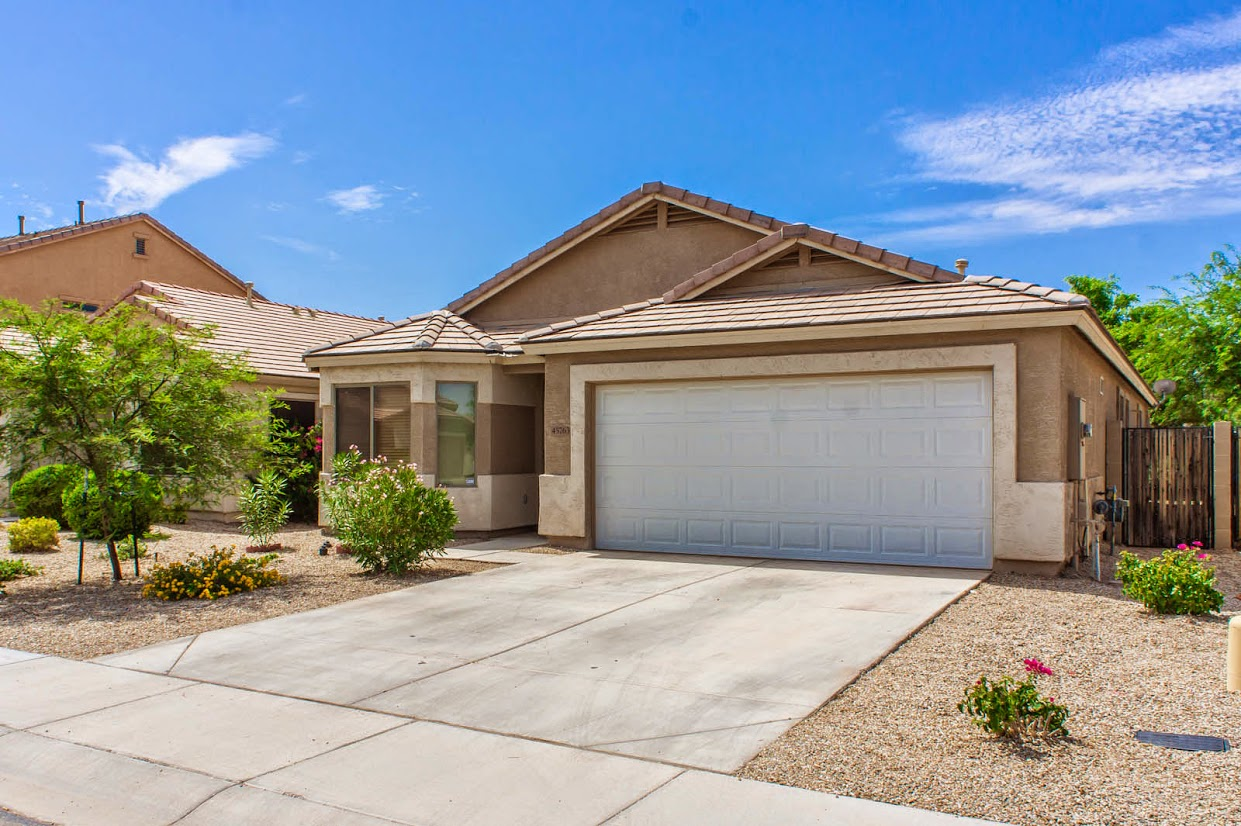 Front view of Homes for Sale in Maricopa
