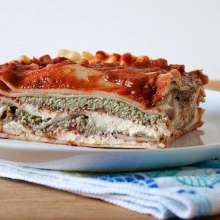 Lasagna With Cashew Crema And Pesto