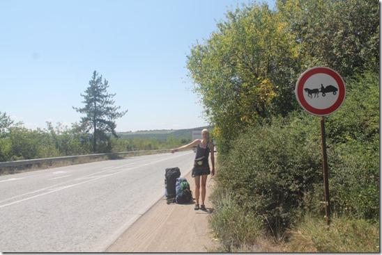 Автостоп Болгарія