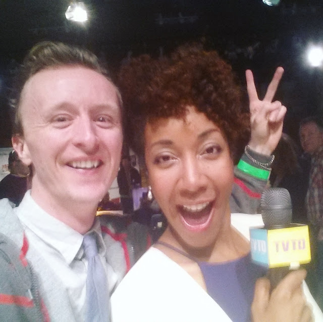 Actor Paul Cram and Adia Morris on TV Takeover