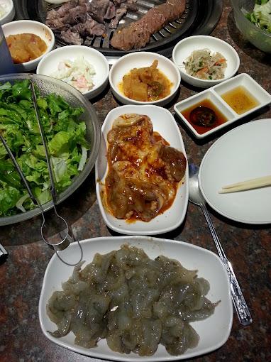 Korean Barbecue w LA
