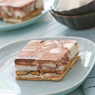 Smores Ice Cream Pie