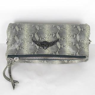Zadig & Voltaire Rock Python Crossbody Bag