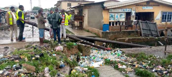 Another Girl, 17, Swept Away By Flood In Surulere