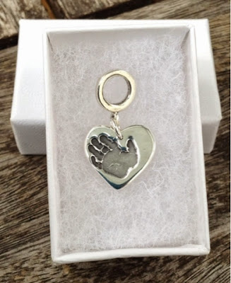 Maria Made It Handprint keyring