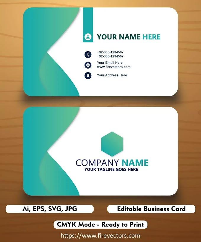 Business Card Template Ai - 08
