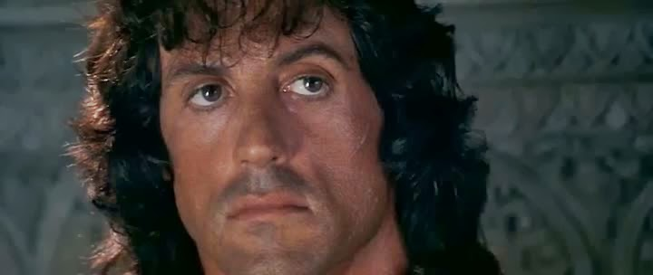 Screen Shot Of Hollywood Movie Rambo: First Blood Part III (1988) In Hindi English Full Movie Free Download And Watch Online at Alldownloads4u.Com