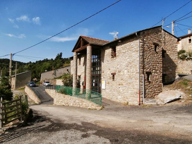 La mairie de Caudies
