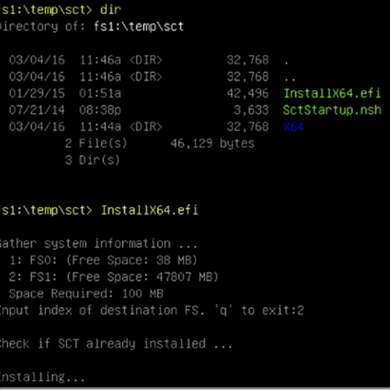Introduction to the UEFI Self-Certification Test (SCT)
