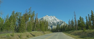 Views around Banff, Cascade Mountain