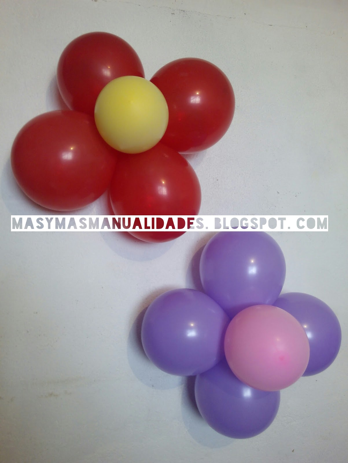 Como Hacer Flores Con Globos - Como-hacer-flores-de-globos