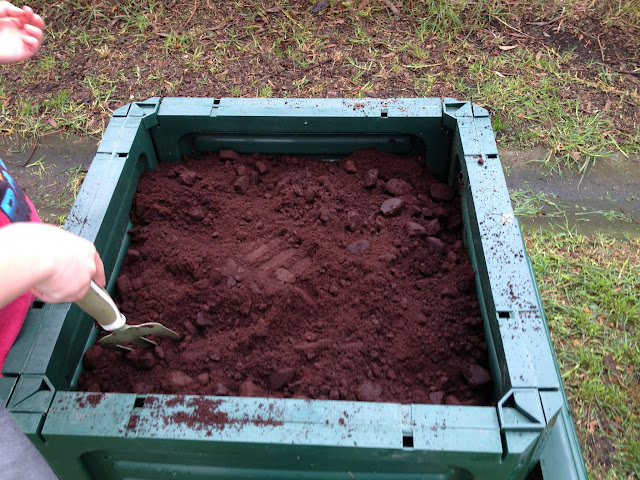 a coffee compost