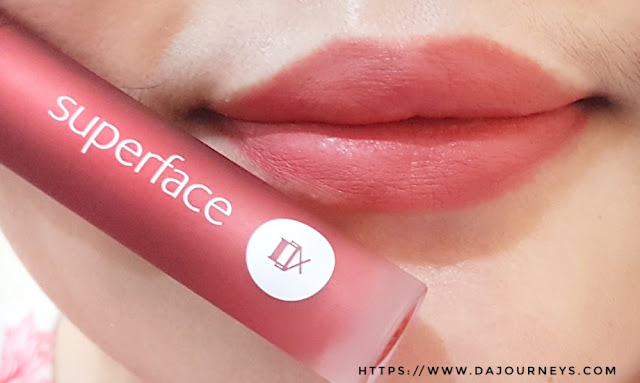 [Review] Superface Soft Blur Lip Mousse - Warm Brick