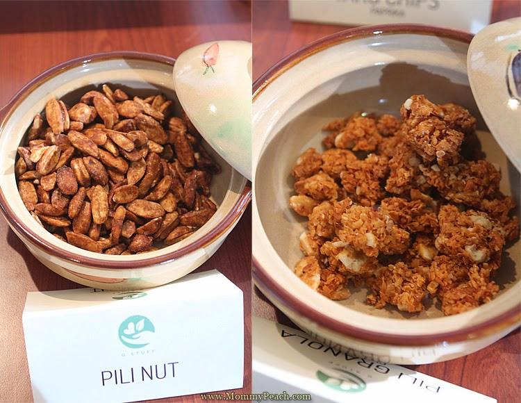 G Stuff Pili Nut and Pili Granola