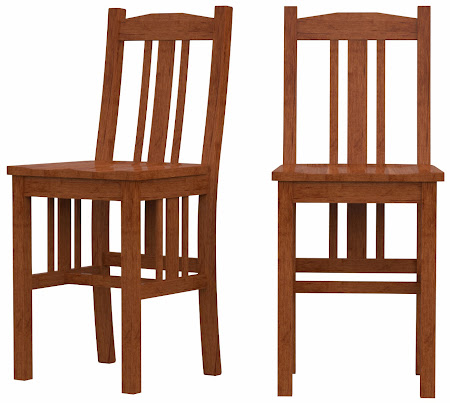 Plains Mission Barstool in Itasca Maple