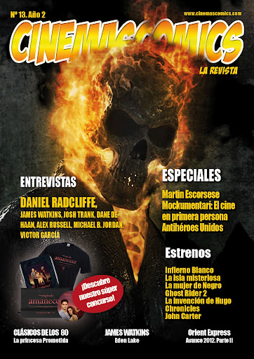 Portada de Cinemascomics: La revista Nº 13