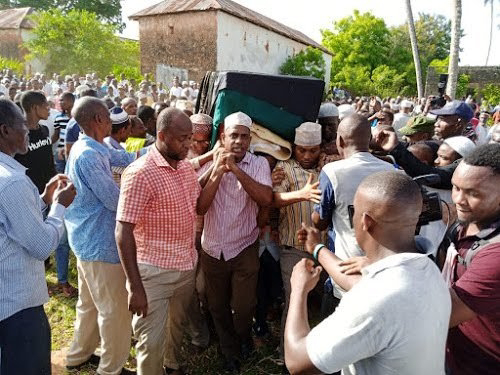 Msambweni Mp Suleiman Dori burial