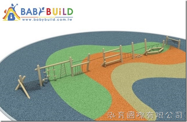 BabyBuild 兒童體適能木製遊戲設施