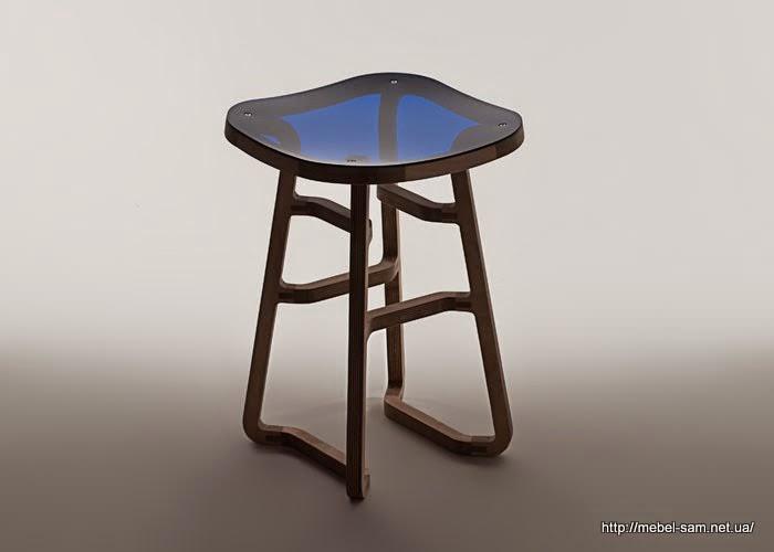 Фанерный стул Woodini  - общий вид