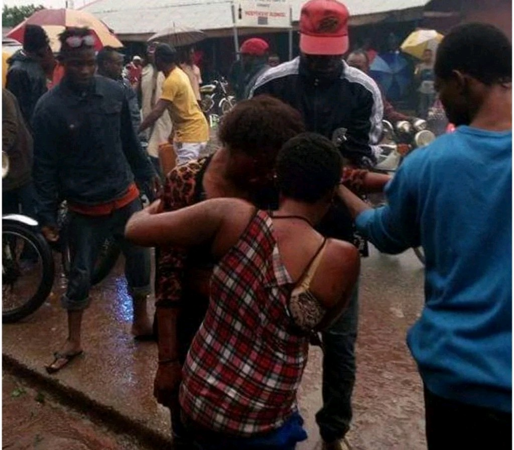 Prostitutes Go Wild In Ondo, Beat Up Customer And Injure A Peacemaker (Photo)