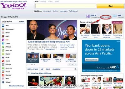 Home Page Yahoo