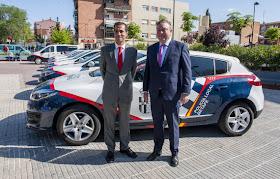 Nuevos vehículos de la Policía Local del Getafe