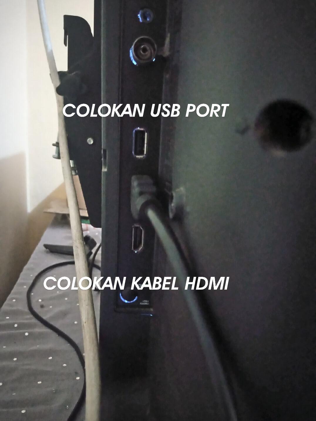 Cara Menghubungkan Hp Ke TV Mengunakan Dongle HDMI