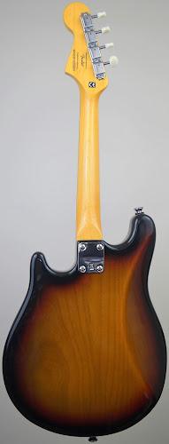 sunburst Fender mandostrat