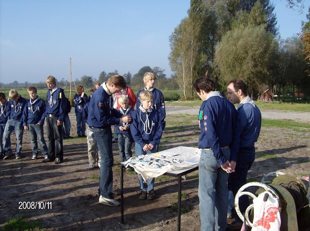 Installatie Bevers, Welpen en Zeeverkenners 2008 - HPIM2174.jpg