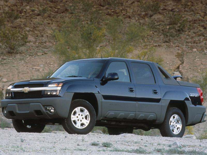 2003 chevrolet avalanche crew cab specifications pictures prices. Black Bedroom Furniture Sets. Home Design Ideas