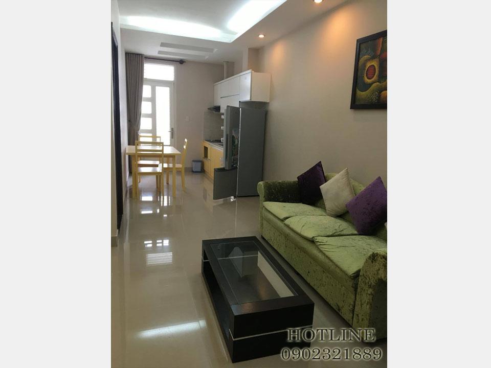 Cho thuê căn hộ 55m2 đường Cửu Long - Quận Tân Bình