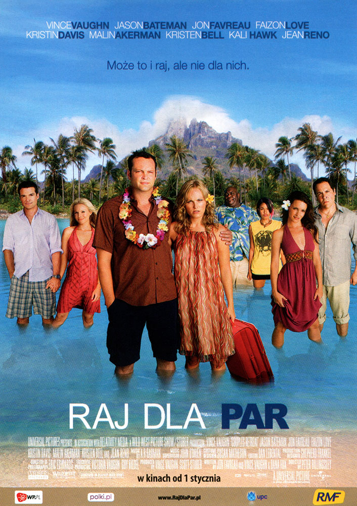 Ulotka filmu 'Raj Dla Par (przód)'