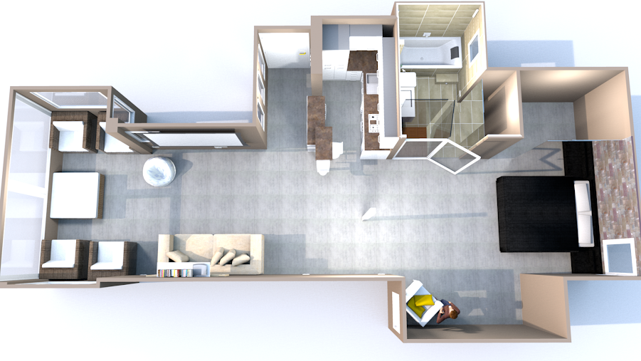 Sweet Home 3D Forum - View Thread - Apartment remodel