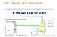 nokia 3110 classic earpiece problems