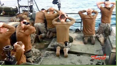 navy sailors held by iran royal guard